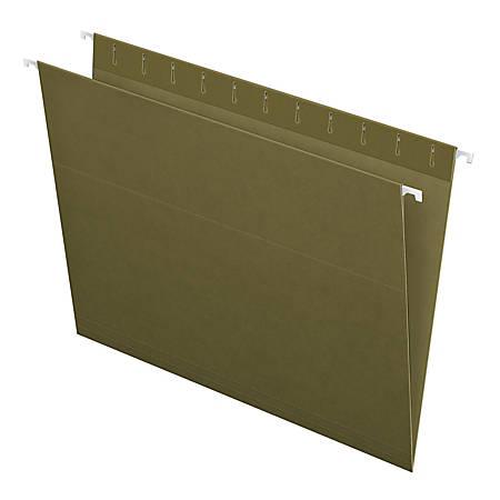Pendaflex® Standard Green Hanging Folders, Letter Size, Standard Green, Box Of 25