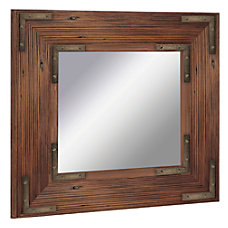 PTM Images Framed Mirror Bronze Accent