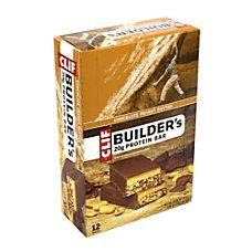 Clif Builders Protein Bar Chocolate Peanut