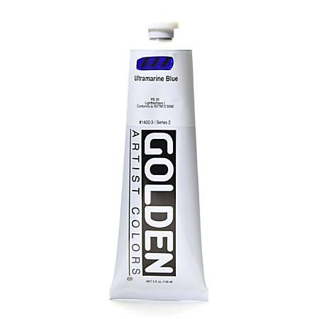 Golden Heavy Body Acrylic Paint, 5 Oz, Ultramarine Blue