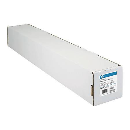 """HP Designjet Inkjet Coated Large-Format Paper, 36"""" x 300', 26 Lb"""