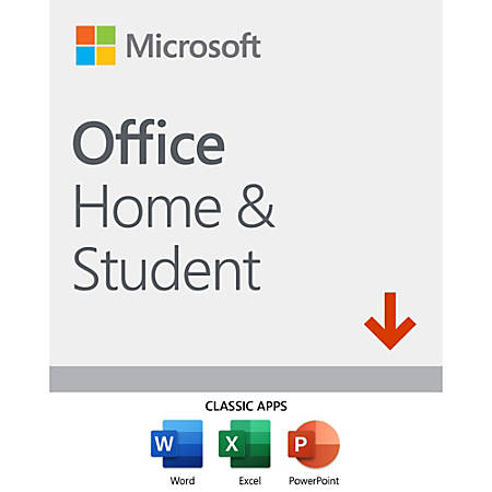 Office Home and Student 2019, For 1 PC/Mac, Download