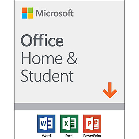 Microsoft® Office Home and Student 2019, For 1 PC Or Mac Device, Download Version