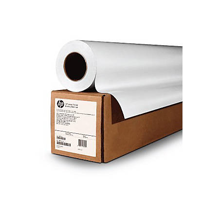 "HP Matte Litho-Realistic Paper, 60"" x 150', FSC® Certified, White"