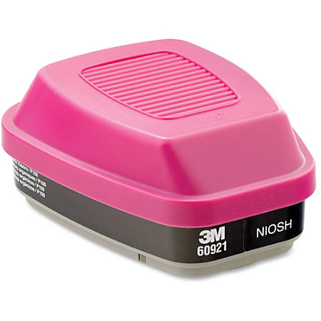 3M 60921 Organic Vapor Cartridge/Filter - Reusable