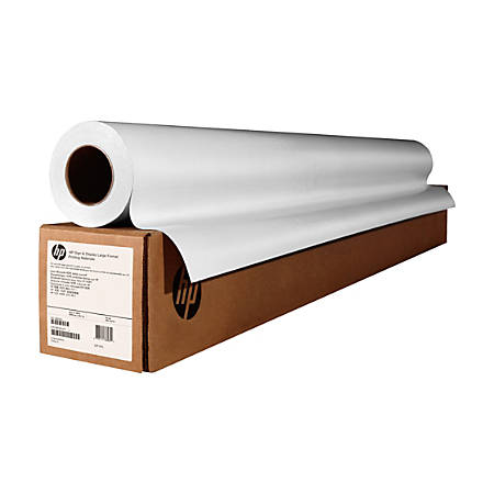"HP Instant-Dry Universal Gloss Paper, 42"" x 100', FSC Certified, White"
