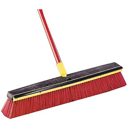 Bulldozer 2-In-1 Squeegee Push Broom