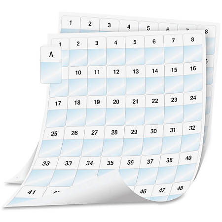 """DYMO® XTL Laminated Wire/Cable Wrap Sheet Labels, DYM1908553, 1""""W x 1 5/8""""L, Rectangle, Laser, White, Polyester, Pack Of 2,544 Labels"""