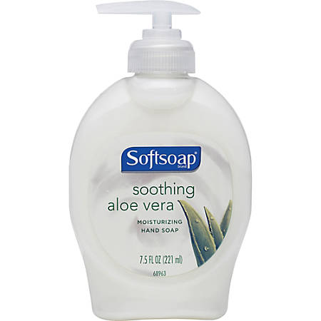Softsoap® Moisturizing Soap With Aloe, 7.5 Oz. Pump