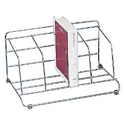 Fellowes Chrome Plated Catalog Rack