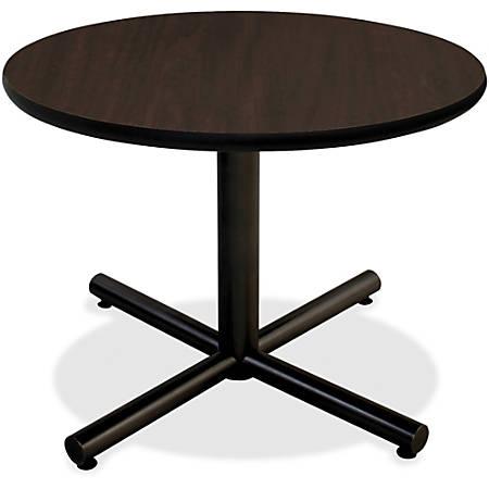 "Lorell® Hospitality Round Table Top, 36""W, Espresso"