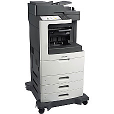 Lexmark MX810DTE Monochrome Laser All In