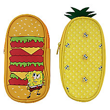 Inkology Nickelodeons SpongeBob SquarePants Pencil Pouches