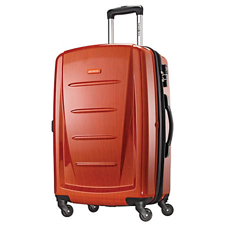 "Samsonite® Winfield 2 Polycarbonate Rolling Spinner, 28""H x 19""W x 12""D, Orange"
