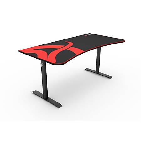 Arozzi Arena Gaming Desk, Black