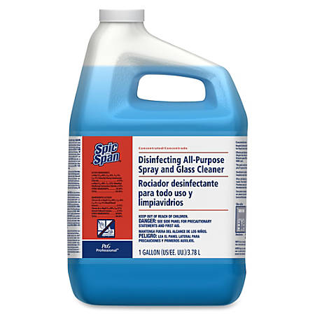 Spic and Span Spic/Span Concentrated Cleaner - Concentrate Liquid - 1 gal (128 fl oz) - 1 Each