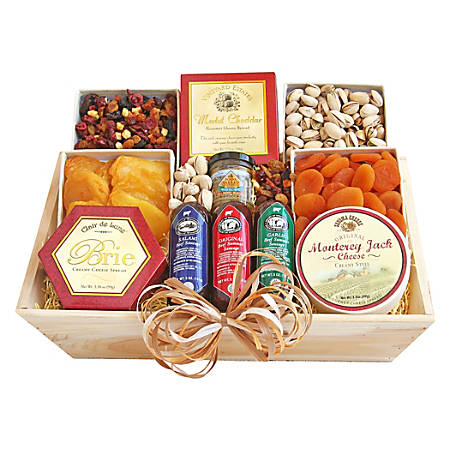 Givens Gift Basket, Deluxe Meat And Cheese, 4 Lb