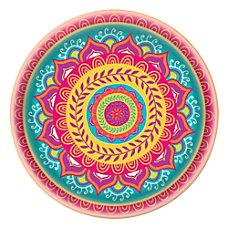 Amscan Melamine Diwali Platter 13 12