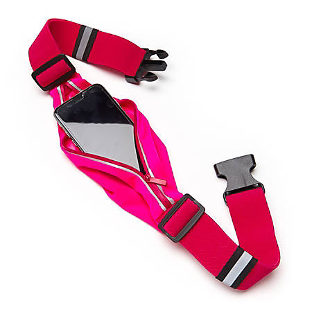 """Black Mountain Products Running Belt, 28"""" - 42"""", Pink"""