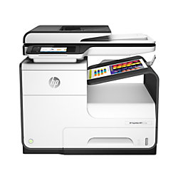 HP PageWide 377dw Color All-in-One Business Printer, Wireless & 2-Sided Duplex Printing (J9V80A)