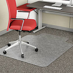 Realspace Advantage Chair Mat Standard Lip