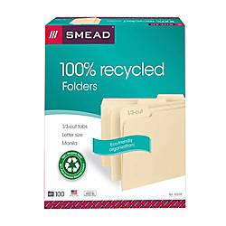 Smead Manila File Folders Letter Size