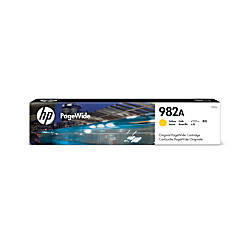 HP 982A Yellow Original PageWide Ink