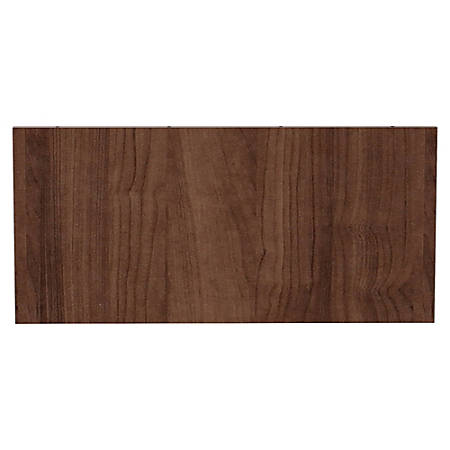Lorell® Prominence Conference Table Modesty Panel, For 4' Top, Walnut