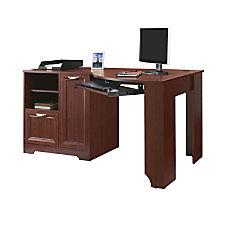 Realspace Magellan Corner Desk Classic Cherry