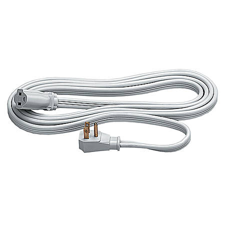 Fellowes Indoor 3-Prong Heavy-Duty Extension Cord, 9', Gray