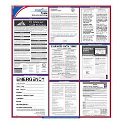 Complyright Florida State Labor Law Poster 27 X 24