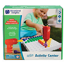 Educational Insights Design Drill Activity Center