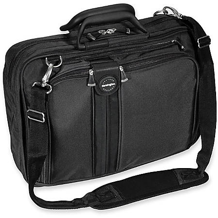 Kensington® SkyRunner Contour Notebook Carrying Case, Black