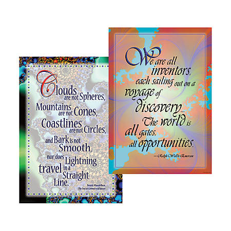 Barker Creek® Poster Duet Set, Unlimited Possibilities, Pack Of 2