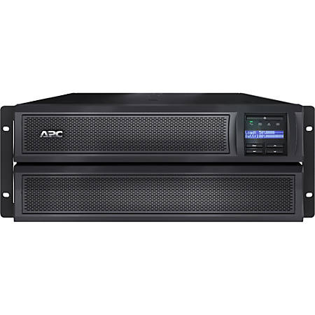 APC by Schneider Electric Smart-UPS X 3000VA Rack/Tower LCD 100-127V with Network Card - 4U Rack/Tower - 3 Hour Recharge - 6 Minute Stand-by - 110 V AC Input - 120 V AC Output - 6 x NEMA 5-20R, 1 x NEMA L5-30R, 3 x NEMA 5-15R
