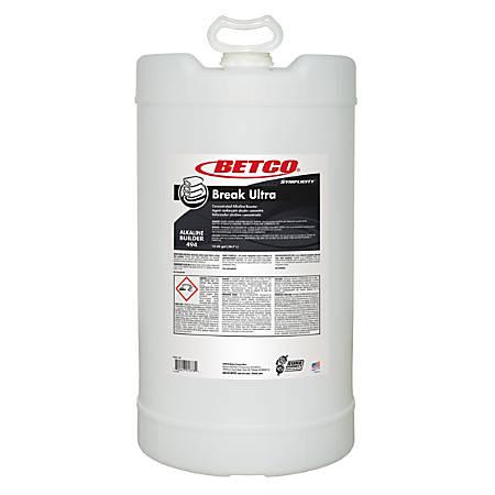 Betco® Symplicity Break Ultra Alkaline Booster, 1,920 Oz, Clear