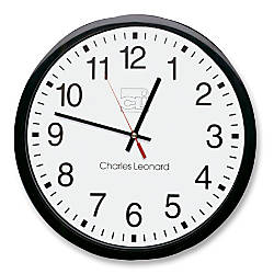 CLI 12 Quartz Wall Clock Analog