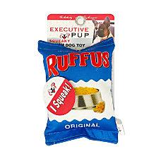 Executive Pup Plush Dog Toy Ruffus