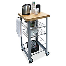 Vertiflex Companion Serving Cart Solid Wood