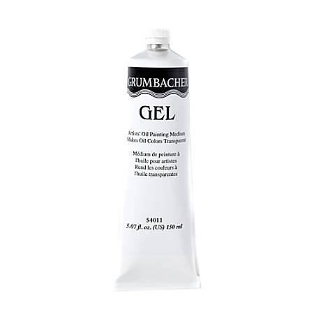 Grumbacher Artists' Gel Oil Medium, 5.07 Oz