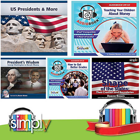 Non-Vocabulary Test Prep Audiobooks: 6 Title Collection, Download Version