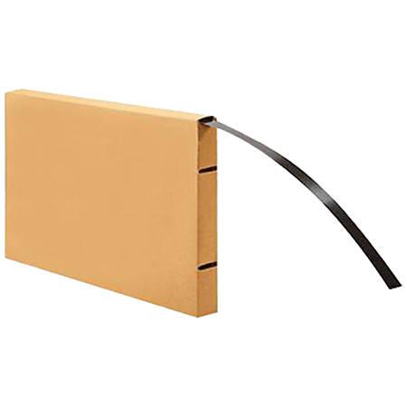 "Office Depot® Brand Steel Strapping Coils, Medium-Duty, 3/4"" x 300', Black"