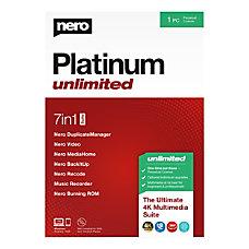 Nero Platinum Unlimited Suite Traditional Disc