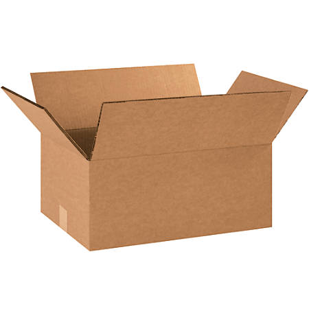 """Office Depot® Brand Double-Wall Corrugated Boxes, 6""""H x 12""""W x 16""""D, Kraft, Pack Of 15"""