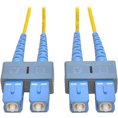 Tripp Lite 1M Duplex Singlemode 8.3/125 Fiber Optic Patch Cable SC/SC 3' 3ft 1 Meter - SC - SC - 3.28ft