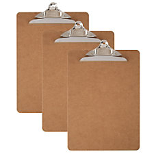 Office Depot Brand Wood Clipboards Letter