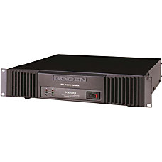 Bogen Black Max X600 Amplifier 600