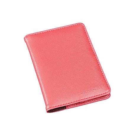 Samsonite® RFID Passport Holder, Coral
