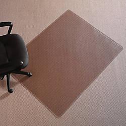 Realspace Chair Mat Rectangular 46 W