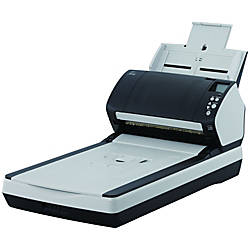 Fujitsu Fi 7260 SheetfedFlatbed Scanner 600